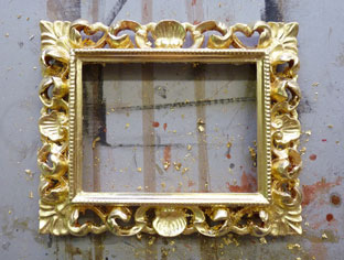 Doratura in foglia oro