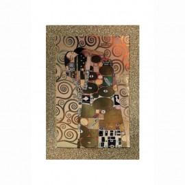 Stampa artistica Klimt  l'Abbraccio