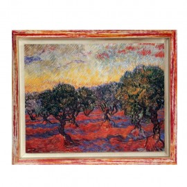 Stampa artistica Van Gogh l' Uliveto