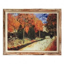Stampa artistica Van Gogh Giardino Autunnale