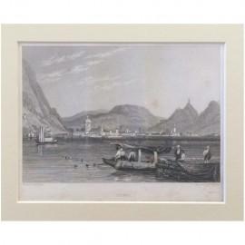 Stampa antica Como 1830