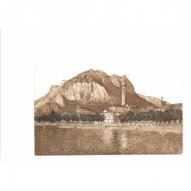 """Sala Piermario """"Lecco, il lago e le montagne"""""""