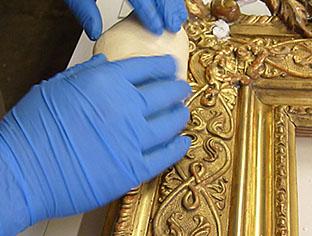 Preparazione dello Stampo in pasta siliconica