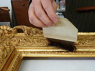Doratura a Guazzo in Oro zecchino